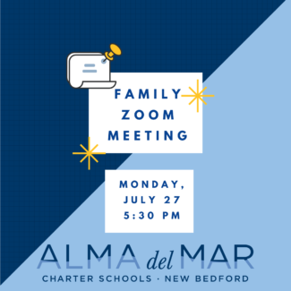 Family Zoom meeting on Monday, July 27 at 5:30 PM