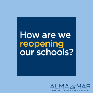 How are we reopening our schools? text image