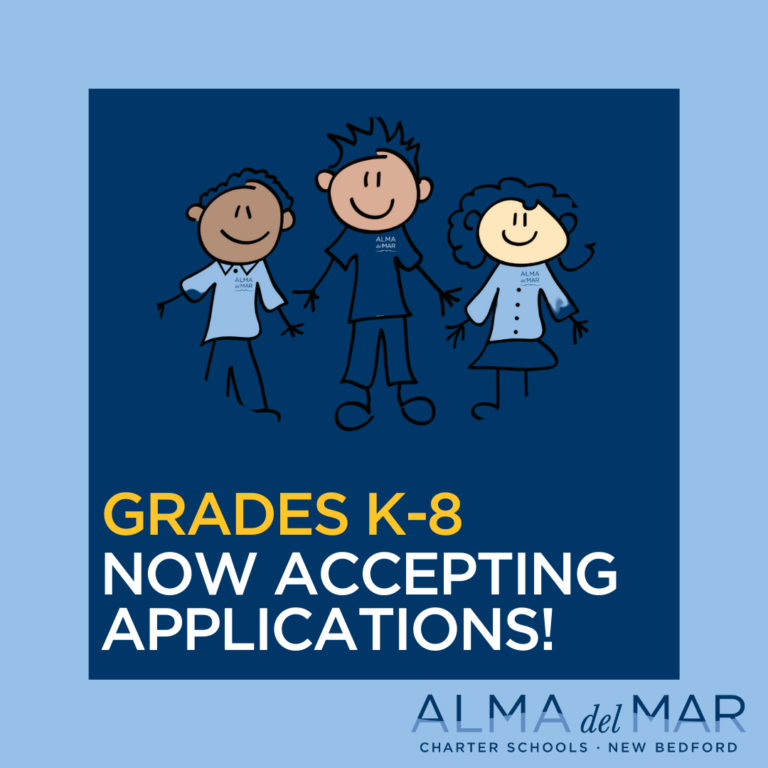 Grades K-8 Now Accepting Applications!